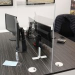 Freestanding Screens – Desk Divider by Screen Sentry