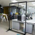 1800mm Freestanding Full Height Screens – Mobile